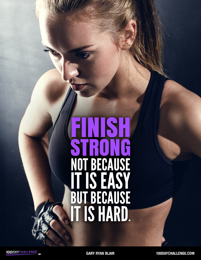 Why Most People Don't Finish Strong