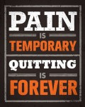 Quitting is Forever